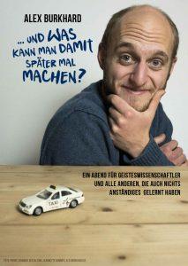 Plakat Alex Burkhard